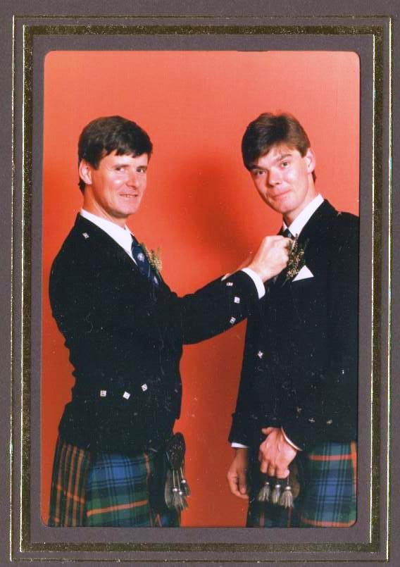 Ian and Gordon Duncan