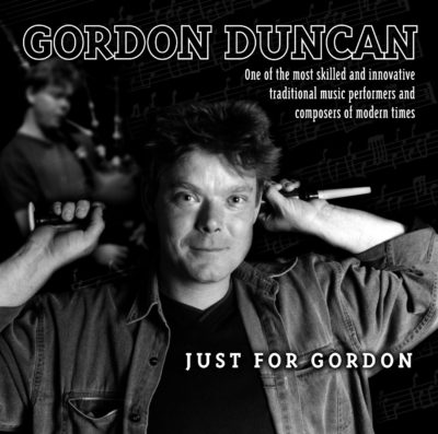 Cover of Just for Gordon CD