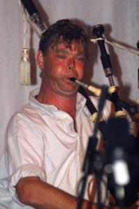 Gordon at a recital in Edinburgh