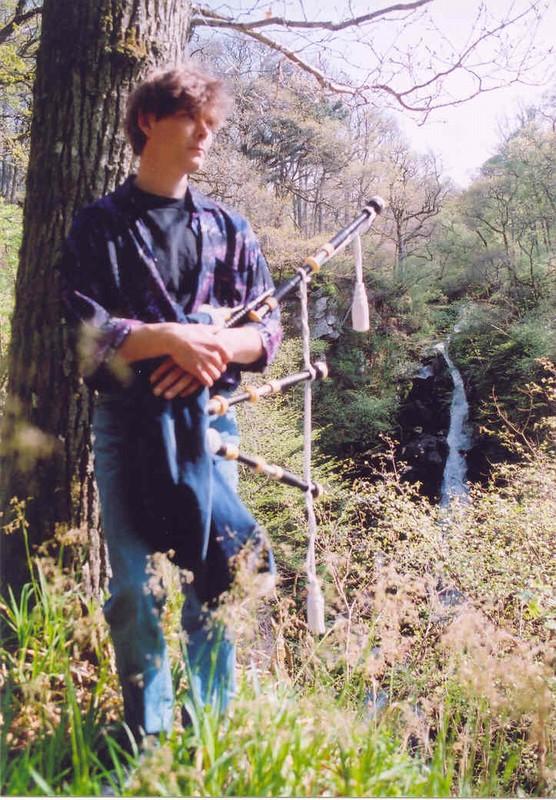 Gordon at the Black Spout waterfall