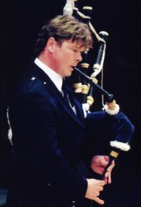 Photo of Gordon taken for the Thunderstruck CD