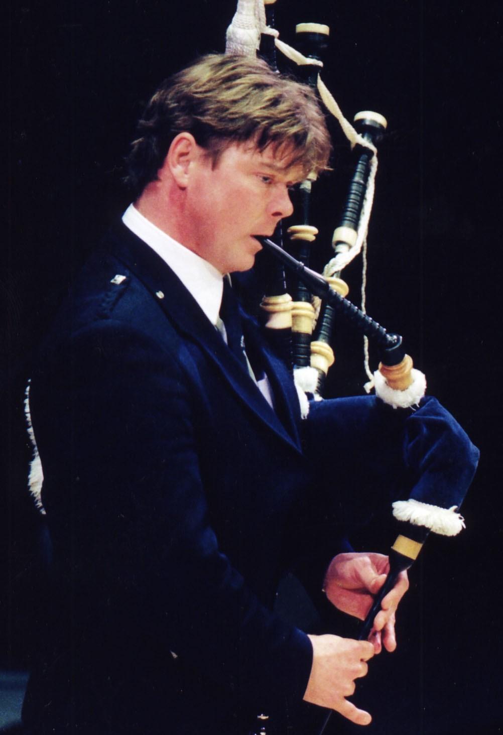 Photo of Gordon taken for the Thunderstruck CD