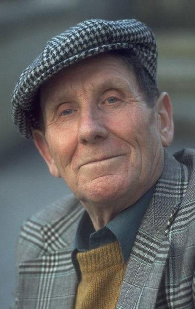 Gordon's father, Jock Duncan