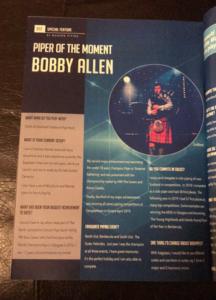 Bobby Allen Article